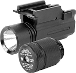 Flashlight/Green Laser W/QR Mount and Switching Bezels