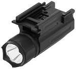Pistol & Rifle LED Flashlight/Quick Release Weaver