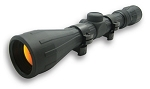 Rubber Tactical Series 3-9X40 Rubber Scope/Ruby Lens/Ring