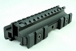 Ncstar 3 side picatinny Rail See Through Scope Mount Base Ar-15