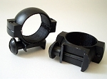 Pair 30mm Low Weaver Rings  Mount for Weaver Or Picatinny Rails