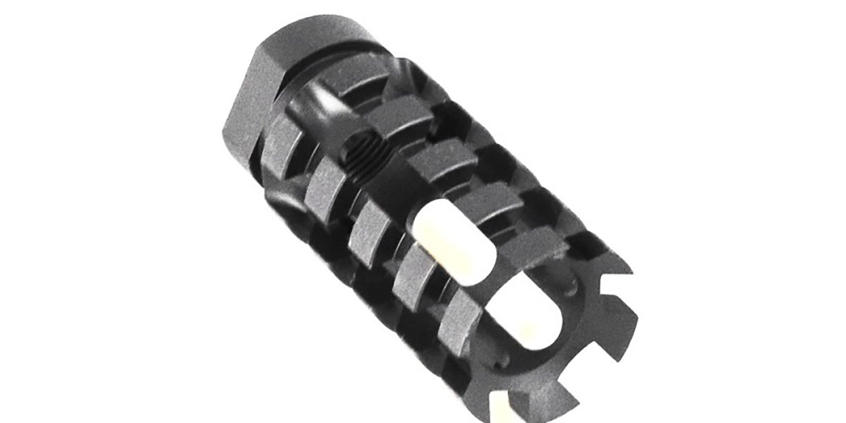 Omega Manufacturing Pineapple Muzzle Brake (Choose Your Thread Pitch)