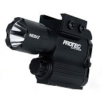 NEBO PROTEC 5567 PISTOL FIREARM GUN LIGHT 3 FUNCTIONS 230 LUMENS