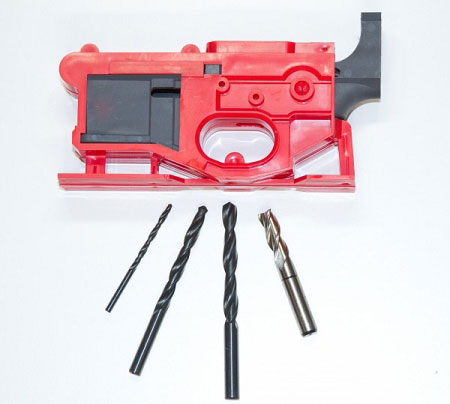 Polymer 80 Lower Receiver Poly 80 Phoenix 2 80% AR-15 Lower with Jig and  Bits