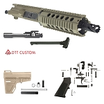 "DTT Customs ""Utah"" AR-15 Pistol Upper Featuring Aero Precision Upper Receiver 7.5"" .223 Wylde 1-7T 4150 CMV Barrel 7"" Quad Rail Handguard (Assembled or Unassembled)"