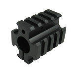 Picatinny Quad Rail Gas Block Barrel Mount
