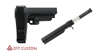 SB Tactical Ar-15 SBA3 Pistol Brace & Mil Spec Tube Kit **Add To Cart To See Special Sale Price**