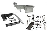 Noreen Firearms 80% Ar-15 Forged Lower Receiver PLUS Lower Parts Kit & Complete Stock Kit Combo  **Super Low Price**