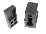 Omega Manufacturing AR-15 Upper Receiver Builders Vise Block Set Two Pieces