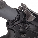 Fortis Lightweight Enhanced AR15 End Plate-K1 System (Black)