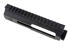 LAR Grizzly Ops-4 Ambidextrous Charging Right Side Discharge Stripped Upper