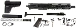 Davidson Defense AR-15 5.56 .223 Complete Pistol Kit, Everything But the Lower Receiver!