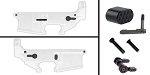 Delta Deals AR-15 Lower Enhancement Kit Featuring Omega Manufacturing Billet Magazine Release - Black,Tactical Superiority Take Down and Pivot Pins - Black, Shooting Innovations Ambidextrous Safety Selector - Black.