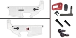 Delta Deals AR-15 Lower Enhancement Kit Featuring Armaspec Extended Magazine Release - Black,Tactical Superiority Take Down and Pivot Pins - Black, Shooting Innovations Ambidextrous Safety Selector - Black.