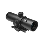 VISM CBT P4 Sniper Blue Illuminated Reticle Scope 3.5x40mm with red laser