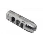 VG6 Precision EPSILON .308 5/8x24 Muzzle Brake Hybrid - Bead Blasted Stainless Steel