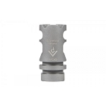 Aero Precision VG6 Gamma 9mm Bead Blasted Stainless Steel Muzzle Brake