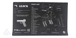 Glock 17 Parts Cleaning Mat