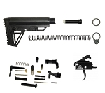 Rise Deluxe AR-15 Match Lower Completion Kit With Rise Drop In Match Trigger & Lower Parts Kit W/ Complete Stock Kit