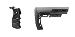Delta Deals Omega Manufacturing AR-15 M4 Polymer Pistol Grip with Bottom Storage Compartment + Davidson Defense