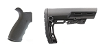 Delta Deals Omega Mfg. AR-15 Rear Beavertail grip, Rubberized Coating + Davidson Defense
