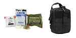 Delta Deals North American Rescue, Individual Aid Kit, Medical Kit + VISM MOLLE EMT Pouch - Black