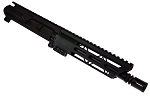 Aero Precision 9mm Assembled Pistol Upper W/ 8.5 Inch Barrel 1-10 Twist Nitride Finish and 7