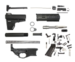 Davidson Defense AR-15  80% Poly Lower Pistol Kit 7.5