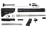 Davidson Defense Complete AR-15 Rifle Kit Minus BCG & Lower & Upper Receivers 3.5 lb Ultra Match Drop In Trigger .223 Wylde Kit 16
