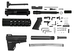 Davidson Defense 9mm AR-15 Pistol Upper Kit W/ 1-10 Twist QPQ Nitride Finish 7