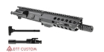 "Davidson Defense AR-15 ""Pow Pow"" Pistol Upper Receiver .223 Wylde Stainless 1-7T Barrel 7"" M-Lok Handguard + Nitride BCG & Charging Handle (Assembled or Unassembled)"