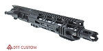 "Davidson Defense ""Agni"" AR-15 Pistol Upper Receiver 10.5"" .300 Blackout Stainless 1-7T Heavy Barrel 10"