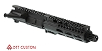 "Davidson Defense Ar-15 ""Breckenridge"" Assembled Pistol Upper Receiver 7.5"" 9mm QPQ Nitride 1-10T Barrel 7"" M-Lok Handguard"