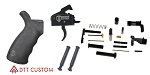 Delta Deals AR-15 Davidson Defense Trigger by Rise Armament  + Anti Walk Pins + LPK (Minus Grip & Fire Control Group) + ERGO Grip