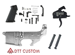 Delta Deals AR-15 80% Lower + KAK LPK + Davidson Defense Trigger by Rise Armament + Anti Walk Pins