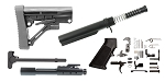 Trinity Force Omega Stock AR-15 Finish Your Lower Rifle Kit - 12.7x42 (.50 cal)