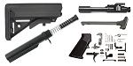 JE Machine AR-15 SOPMOD Stock Finish Your Rifle Kit - 5.56/.223/.300/.350