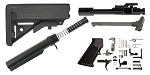 JE Machine AR-15 SOPMOD Stock Finish Your Rifle Kit - 6.8 SPC/.224 Valkyrie