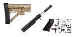 Delta Deals Trinity Force AR-15 Finish Your Lower Rifle Kit - FDE