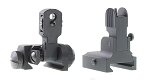 Delta Deals AR-15 Aim Sports Flip Up Sight Combo (Rear and Front Sight)