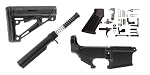 Delta Deals Hogue AR-15 Finish Your Anodized 80% Lower Kit
