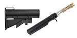 United Defense AR-15 CAR-15 Stock + Mil-Spec Standard Buffer Tube Kit