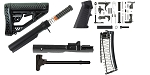 Delta Deals AR-15 Adaptive Tactical Finish Your Rifle Build w/Conversion Kit - 9mm