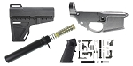 Delta Deals AR-15 Finish Your 80% Lower Pistol Kit - Featuring KAK Industries