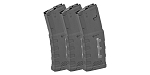 Mission First Tactical, MFT Window EXD 5.56/.223/.300 Polymer Magazine - 30rd Black - 3 Pack