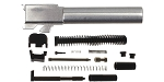Delta Deals DIY Pistol Kit ELD G19 Gen 1-5 9mm Glock Compatible Stainless Steel Barrel + Alpha One G19 Gen 1-3 Slide Parts Kit