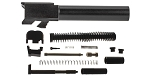 Delta Deals DIY Pistol Kit ELD Performance G19 Gen 1-5 9mm Glock Compatible Barrel + Alpha One G19 Slide Parts Kit