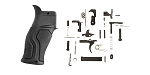 Delta Deals FAB Defense Gradus Pistol Grip - Black + KAK AR-15 Lower Parts Kit w/ No Grip