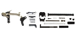 Delta Deals DIY Pistol Kit Glock 19/17 Compatible Lower Parts Kit, Extended Mag Release and Slide Release + Alpha One Glock 17 Slide Kit