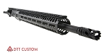 "Davidson Defense ""Cat Dog"" AR-15 Upper Receiver 18"" Ultra-Match .224 Valkyrie QPQ Nitride H-BAR 1-7T Barrel 15"" M-Lok Handguard (Assembled or Unassembled)"